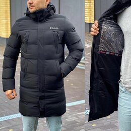 Куртки - Зимняя длинная мужская куртка Columbia р-ры 44-56, 0