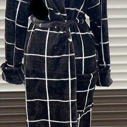 Домашняя одежда - Женский махровый халат р-ры 44-54, 0