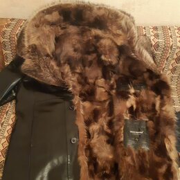 Куртки - Куртка херман кожаная с мехом , 0