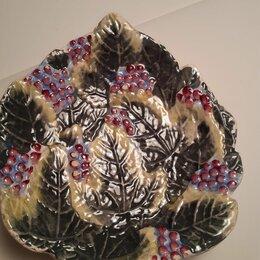 Декоративная посуда - Блюдце, 0
