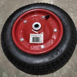 Аксессуары и комплектующие - Колесо для тачки пневматическое 340 мм., 0