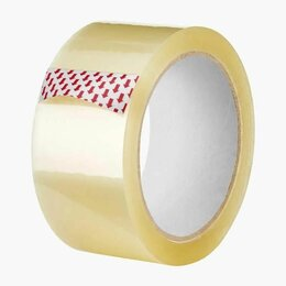Упаковочные материалы - Скотч упаковочный прозрачный  48*50м/40 мкм , 0