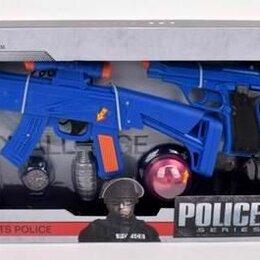 """Полицейские и шпионы - Набор """"Полицейский"""", на батарейках, 10 предметов, арт. 261-3, 0"""