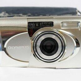 Пленочные фотоаппараты - Фотоаппарат olympus M {mju:}-V, 0