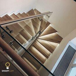 Интерьерная подсветка - Автоматическая подсветка лестницы с забежными ступенями, Умный свет, 0