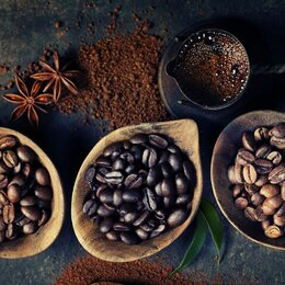 Продукты - Кофе зерновой в ассортименте, 0