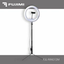 Осветительное оборудование -  Кольцевая лампа Fujimi FJL-RING12M стойка в…, 0