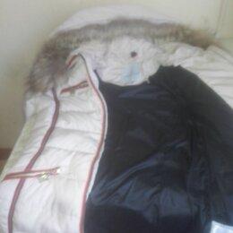 Куртки - Пуховик женский в идеальном состоянии, 0