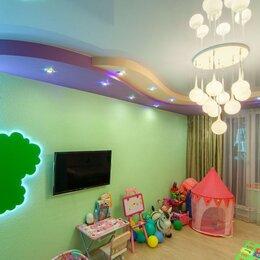 Потолки и комплектующие - Натяжной потолок для детской в рассрочку, 0