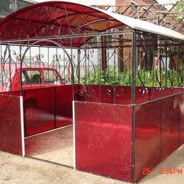 Комплекты садовой мебели - Беседка из сотового поликарбоната, 0
