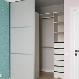 Шкафы, стенки, гарнитуры - Шкафы купе Двери-купе Встроенный шкаф гардеробная, 0