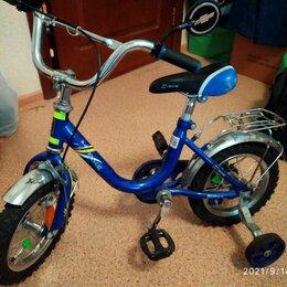 Трехколесные велосипеды - Трёхколёсный детский велосипед страйк форвард, 0