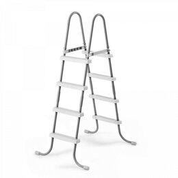 Лестницы и поручни - 28066 Лестница для бассейнов до 122см, 4 ступеньки, без площадки, 0
