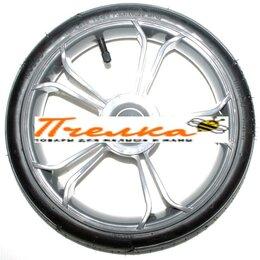Обода и велосипедные колёса в сборе - Колесо надувное 12 дюймов 60х230 №019027 серый, 0