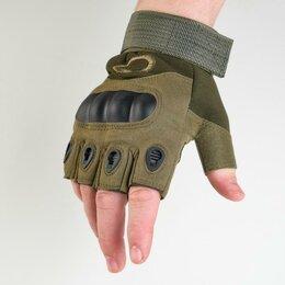 Одежда - Перчатки тактические хаки Краги  L, 0