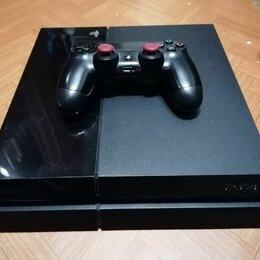 Игровые приставки - Sony ps4 slim 1tb + 4 игры, 0