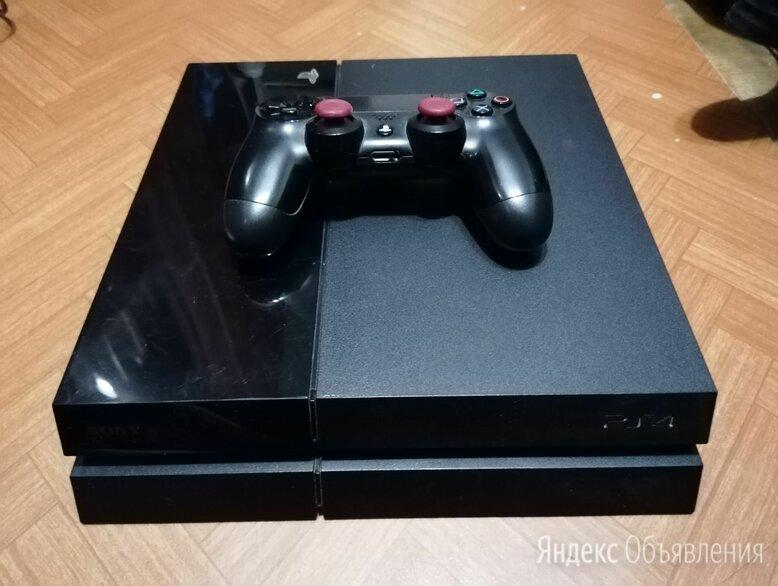 Sony ps4 slim 1tb + 4 игры по цене 25000₽ - Игровые приставки, фото 0