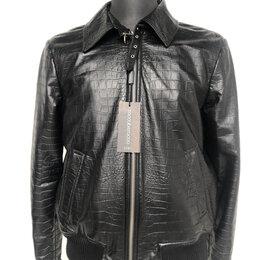 Куртки - Куртка мужская кожаная р.46-48 /10523/, 0