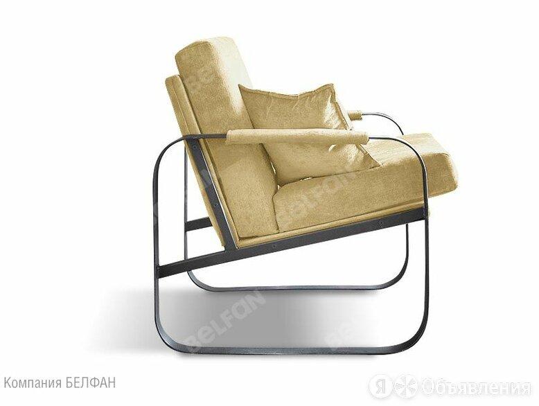 """Кресло """"Фил""""; нераскл.; черный; Velvet Lux 60 (гр.2/СМ) по цене 27735₽ - Диваны и кушетки, фото 0"""
