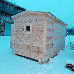 Бочки и купели - Утепленные Бани с двускатной крышей, 0