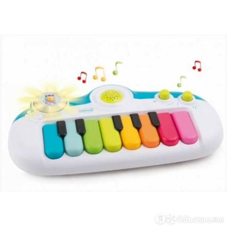 Электронное пианино Cotoons 8 мелодий свет Smoby 110506 по цене 1990₽ - Игровые наборы и фигурки, фото 0