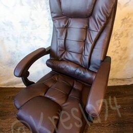 Компьютерные кресла - Офисное кресло руководителя вибромассажем спины, 0