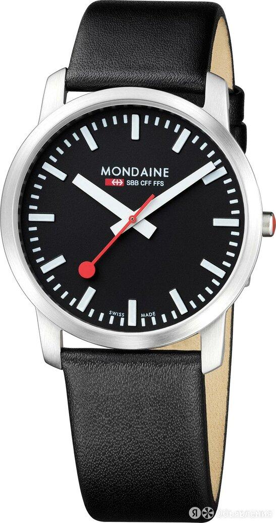 Наручные часы Mondaine A638.30350.14SBB по цене 28200₽ - Наручные часы, фото 0
