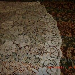 Скатерти и салфетки - винтаж  гДР  кружево скатерть 140 на 72 см нов, 0
