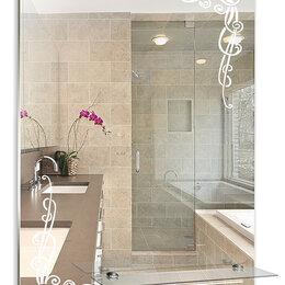 Зеркала - Серебрянные зеркала Зеркало настенное Серебрянные зеркала Винтаж с полкой 495..., 0