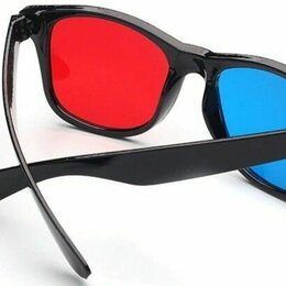 3D-очки - Анаглифные профессиональные 3d очки пара, 0
