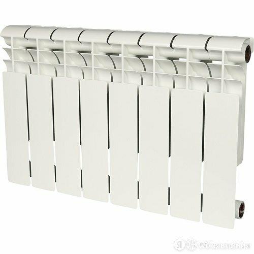 ROMMER PROFI BM 350-8 Биметаллический радиатор, 8 секций по цене 3758₽ - Радиаторы, фото 0