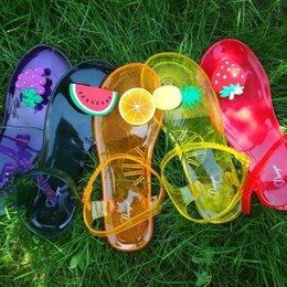 Сандалии - Женские летние пляжные сандалии с фруктами, 0