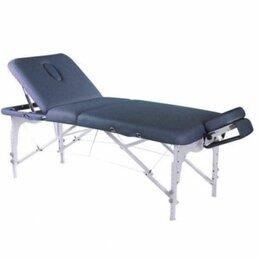 Массажные столы и стулья - Складной массажный стол / Массажная кушетка/Стол для массажа  голубой, 0