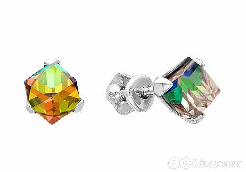 Серьги Серебро России 0049S-001VM-64427 по цене 1210₽ - Серьги, фото 0