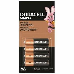 Батарейки - Батарейка  DURACELL Simply, АА (4), 0