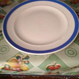 Тарелки - Фарфоровая тарелка для пиццы и пирогов d 36 см, 0