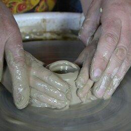 Лепка - Формовка глины на гончарном круге, 0