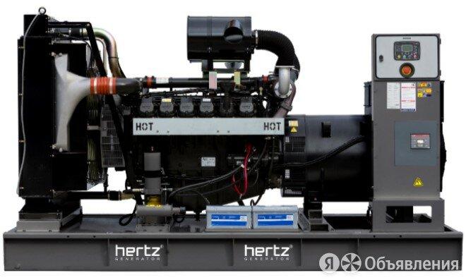 Дизельный генератор Hertz HG 824 DC с АВР по цене 7813179₽ - Электрогенераторы и станции, фото 0