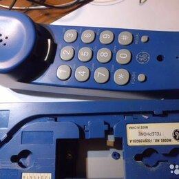 Проводные телефоны - Настольный стационарный телефон, 0