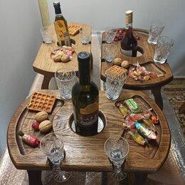Столы и столики - Винные столики из дуба, 0