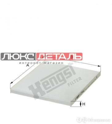 HENGST FILTER E3944LI Фильтр салона  по цене 614₽ - Отопление и кондиционирование , фото 0