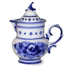 Посуда - Соусники, молочники Гжельский фарфоровый завод Молочник Голубка 2 сорт, 0