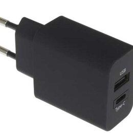 Защитные пленки и стекла - Сетевое зарядное устройство Deppa USB Type-C, Power Delivery, 25Вт, белый, 0