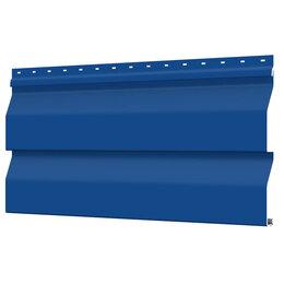 Сайдинг - Сайдинг металлический Корабельная Доска RAL5005 Синий Сигнал, 0