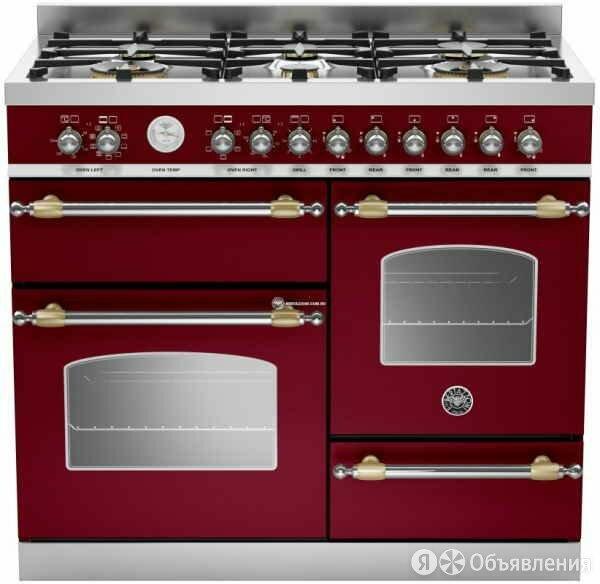 Комбинированная кухонная плита BERTAZZONI HER1006MFETVIT по цене 589900₽ - Плиты и варочные панели, фото 0
