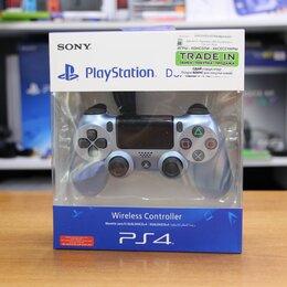 Рули, джойстики, геймпады - Джойстик Playstation PS4 Dualshock 4 Chrome Blue, 0