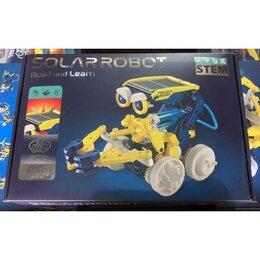 Конструкторы - Робот-конструктор на солнечной батарее 11 в 1 Solar Robot build and learn, 0