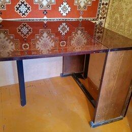 Столы и столики - Стол-книжка раскладной полированный цвет - венге, 0