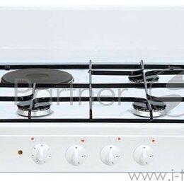 Плиты и варочные панели - Плита Комбинированная Gefest ПГЭ 910-01 белый, 0
