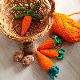Рукоделие, поделки и сопутствующие товары - Вязаные фрукты и овощи крючком, 0
